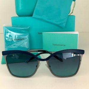 New Tiffany & Co TF3060 Women's Metal Sunglasses